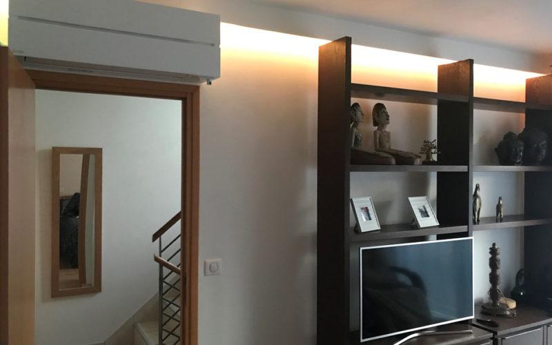 Climatisation d'une maison de 200m² à Bourg-la-Reine